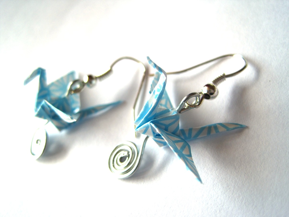 origami jewelry fly with origami learn to dream