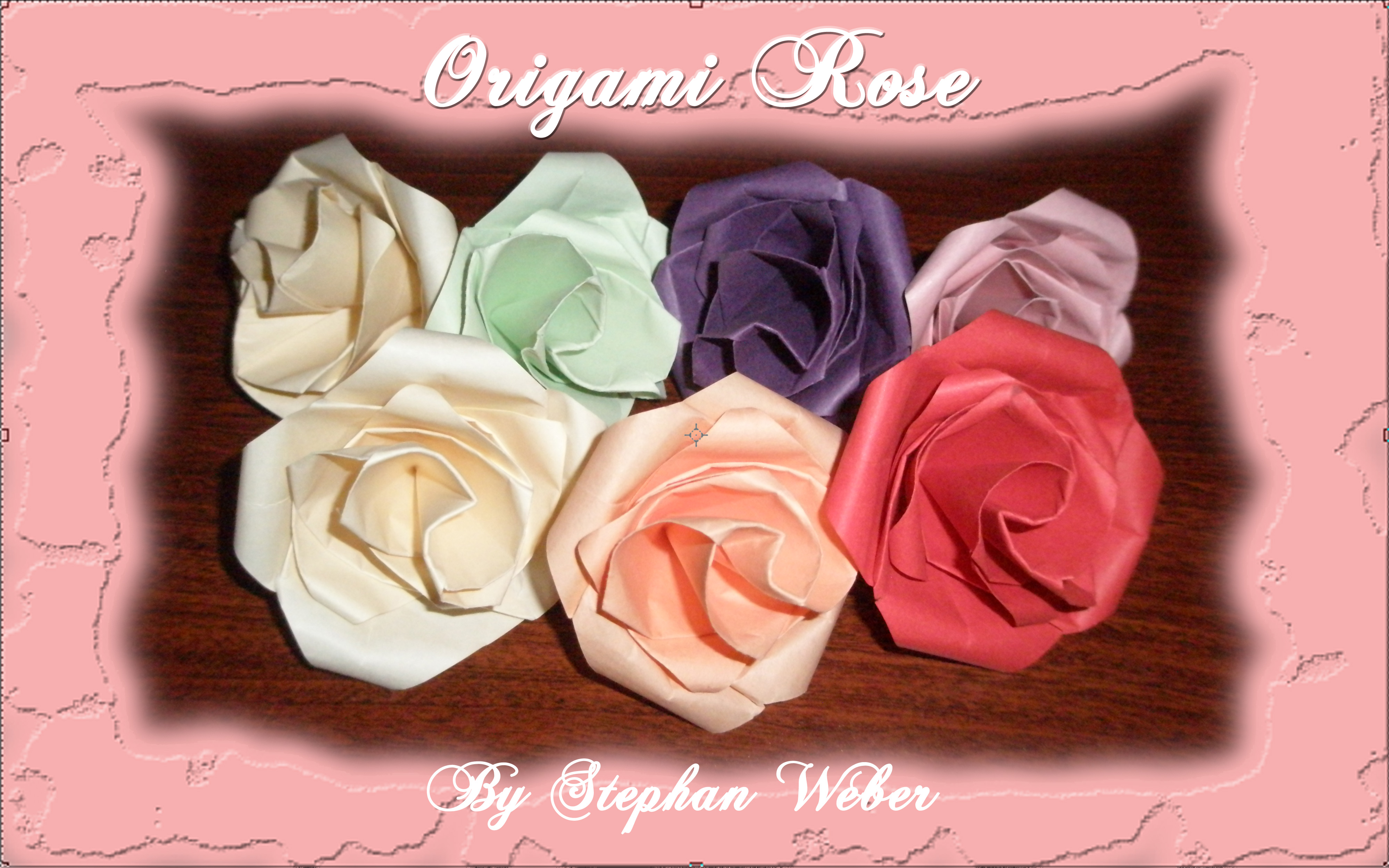 Weekly FOLD – Origami Rose – Fly with Origami, Learn to Dream - photo#50