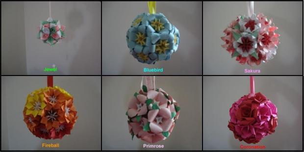 Six Bouquets