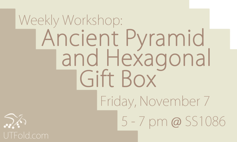 FOLD ancient pyramid and hexagonal gift box nov 7 copy