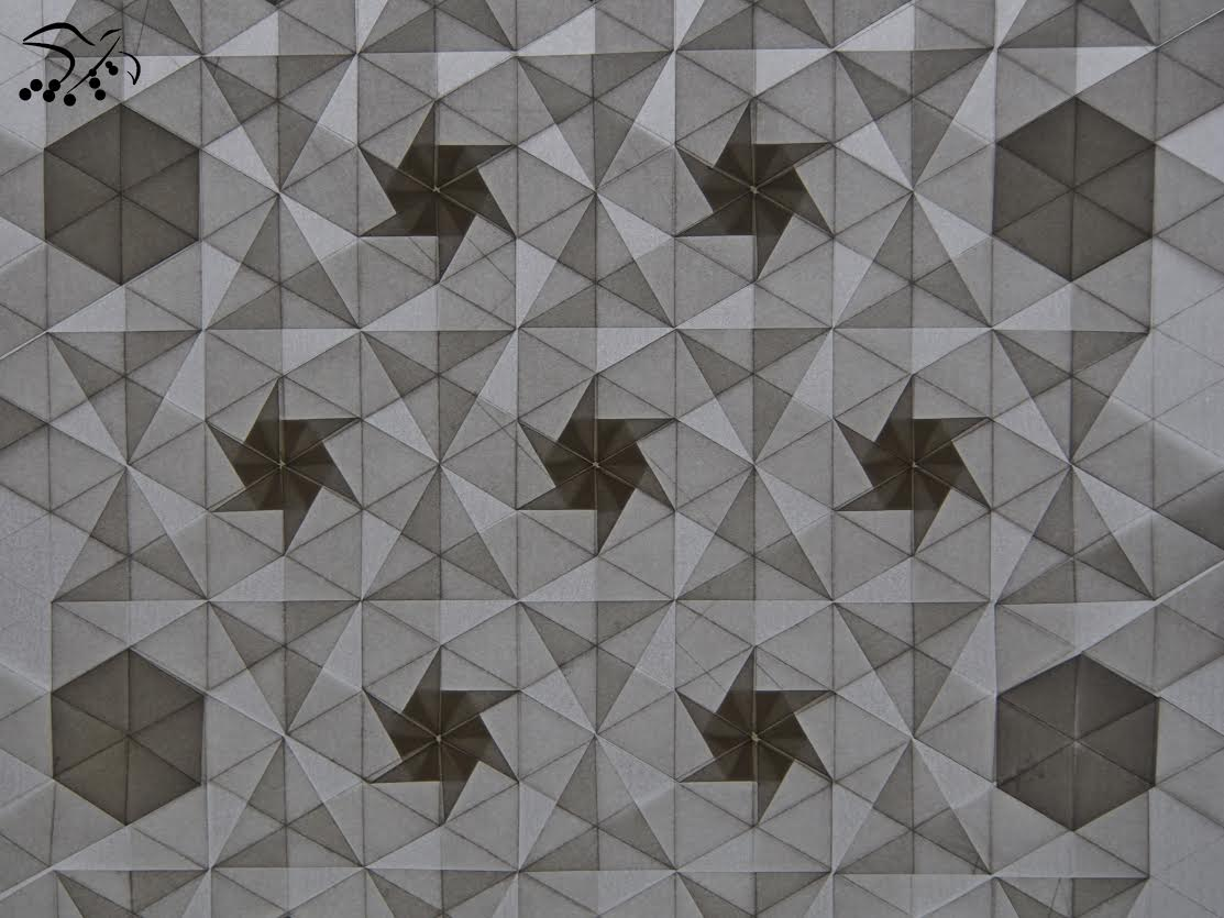 Monthly fold tessellation fly with origami learn to dream tessellation dailygadgetfo Images