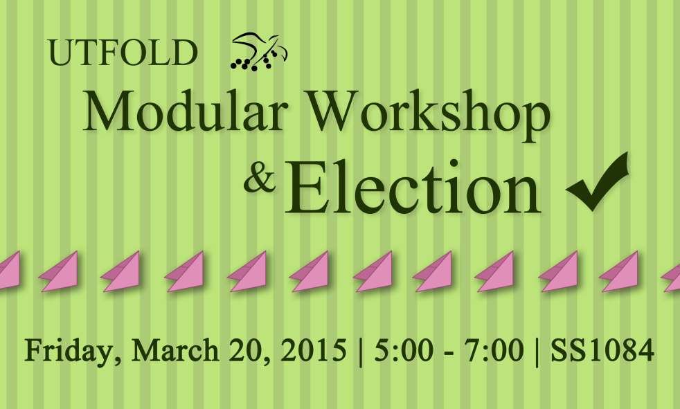 FOLD modular and election march 20